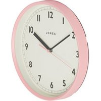 Jones Dime Contemporary Pink Quartz Clock.