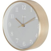 Jones Contemporary Bronze effect Quartz Mantle clock.