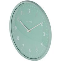 Jones Moonlight Contemporary Duck egg blue Quartz Clock.