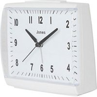Jones Dreamland White Quartz Alarm clock.