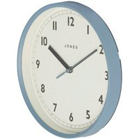 Jones Dime Contemporary Old boat blue Clock.