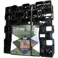 Active Products Plastic Grid Shed base