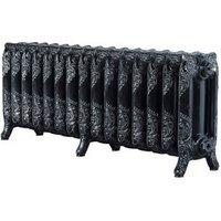 Save on this Arroll Montmartre 3 Column Radiator Black & silver (W)1234mm (H)470mm
