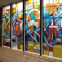 AXGARD Clear Polycarbonate Flat Glazing sheet  (L)2m (W)1m (T)2mm