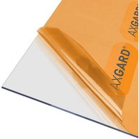AXGARD Clear Polycarbonate Flat Glazing sheet  (L)2m (W)1m (T)3mm