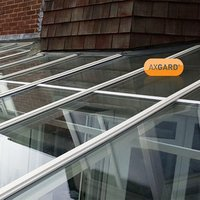 AXGARD Clear Polycarbonate Flat Glazing sheet  (L)3.05m (W)1m (T)3mm
