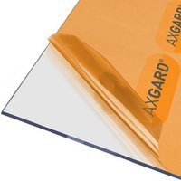 AXGARD Clear Polycarbonate Flat Glazing sheet  (L)3.05m (W)1m (T)4mm