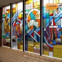 AXGARD Clear Polycarbonate Flat Glazing sheet  (L)2.05m (W)0.62m (T)2mm