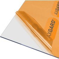 AXGARD Clear Polycarbonate Flat Glazing sheet  (L)2.5m (W)0.62m (T)3mm