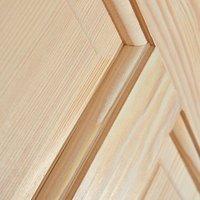 4 panel Clear pine LH and RH Internal Door  (H)2040mm (W)726mm