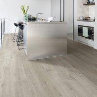 Quick-step Aquanto Dark grey Oak effect Laminate Flooring  1.835m² Pack