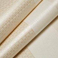 'Grandeco Prestige Neutral Striped Smooth Wallpaper