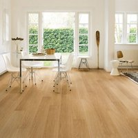 Quick-step Aquanto Varnished Oak effect Laminate Flooring  1.84m² Pack