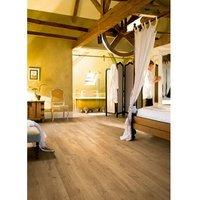 Aquanto Natural Oak effect Laminate Laminate flooring