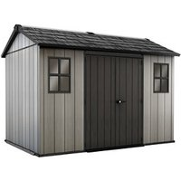Keter Oakland 11x7.5 Apex Tongue and groove Plastic Shed