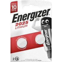 Energizer CR2025 Battery Pack of 2.