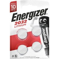 Energizer Specialty Non-rechargeable CR2032 Battery Pack of 4.