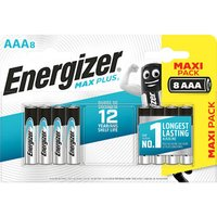 Energizer Alkaline Non-rechargeable AAA Battery Pack of 8.