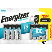 Energizer Alkaline Non-rechargeable AA Battery Pack of 8.