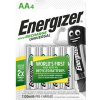 Energizer Recharge Rechargeable AA Battery Pack of 4.
