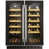 Hoover HWCB60D UK/N Black Stainless steel effect 38 bottles