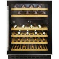 Hoover HWCB60 UK/N Black Stainless steel effect 46 bottles W