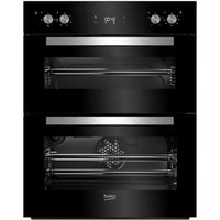 Beko BTQF24300B Black Built-in Electric Double oven