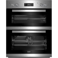 Beko BTQF22300X Silver Built-in Electric Double oven