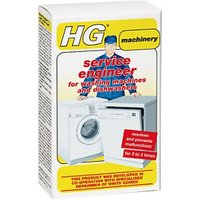 HG Service Engineer Unscented Washing machine & dishwasher cleaner 0.2L.