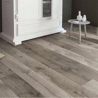 Uptown Grey Oak effect Laminate flooring  1.76m² Pack