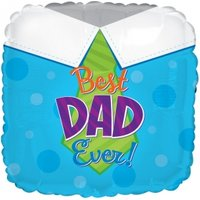 Best Dad Ever Balloon - Flowers Gifts