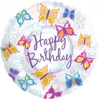 Butterfly Birthday Balloon - Butterfly Gifts