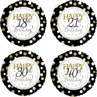 Happy 70th Birthday Balloon - 70th Birthday Gifts