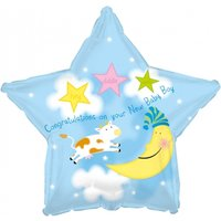 New Baby Boy Balloon - Baby Gifts