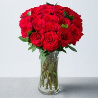 24 Red Roses - Flowers Gifts