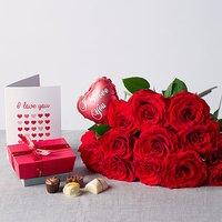I Love You Flower Gift - Flowers Gifts