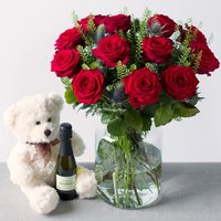 Luxury Roses Gift - Bunches Gifts