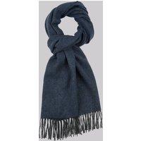 DKNY Blue Plain Wool Scarf