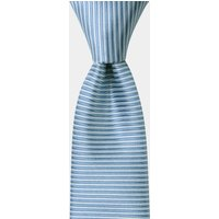 DKNY Sky Blue Horizontal Stripe Tie