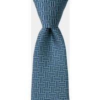 DKNY Blue Retro Geometric Tie