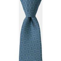 DKNY Blue Retro Geometric Tie