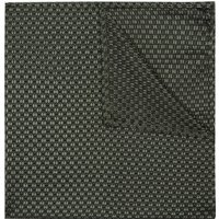 DKNY Khaki Natte Textured Pocket Square