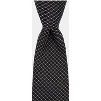 DKNY Black Cross Pattern Tie