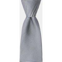 DKNY Navy & White Textured Tie