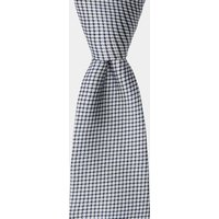 DKNY Navy & White Textured Tie