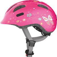 Abus Smiley 2.0 Butterfly Fahrradhelm (pink) 45-50 cm - Angebote