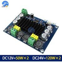 TPA3116D2 XH-M543 Dual-channel Stereo High Power Digital Audio Amplifier Board 2*120W Amplificador DIY Module 12V-24V