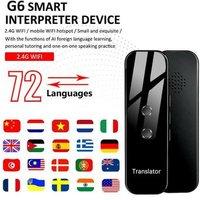 G6 Portable Audio Translator Multi-Language Translaty MUAMA Enence Smart Instant Real Time Voice Translator For Learning Travel