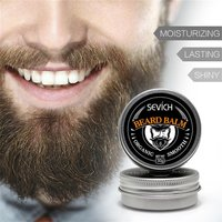 30g Professional Natural Organic Beard Oil Balm Moustache Wax Beard Growth Caring Smooth Styling Universal For Styling Salon