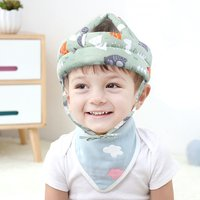 Toddler Baby Head Protection Cartoon Pillow Safety Infant Anti-fall Soft Cotton Children Protective Cushion Baby Safe Care Cap